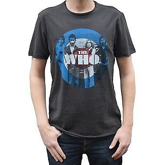 Amplified The Who Target Charcoal Crew Neck T-Shirt S