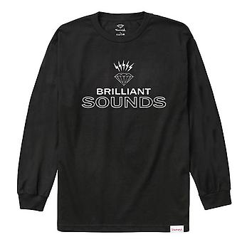 Diamond Supply Co Diamond Records L/S T-shirt Black