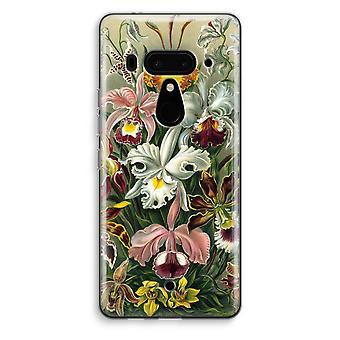HTC U12+ Transparent Case (Soft) - Haeckel Orchidae