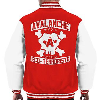 Avalanche Eco Terrorists Final Fantasy VII Men's Varsity Jacket