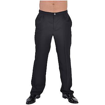 Mannen kostuums zwarte broek