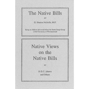 De inheemse rekeningen (1935) - Native Views op de inheemse rekeningen (1935) - Boo