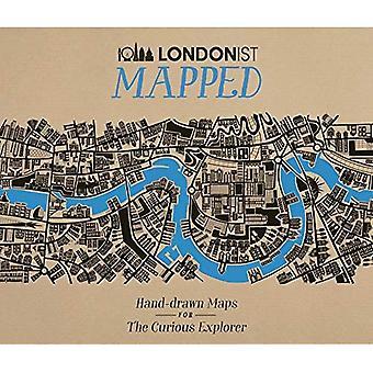 Londonist mapowane: Rysowane ręcznie mapy dla ciekawskich Londoner