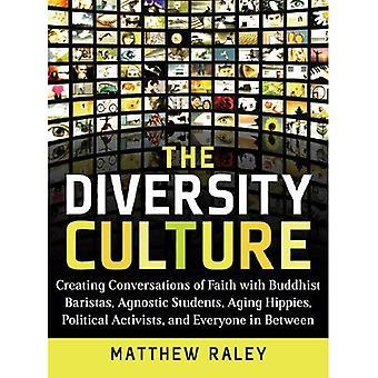 La cultura della diversità: Creazione di conversazioni di fede con baristi buddista, studenti agnostici, Hippies, attivisti politici di invecchiamento e mai
