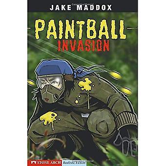Invasão de paintball (ficção realista arco de pedra)