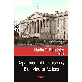 Abteilung des Finanzministeriums Blueprint für Aktionen