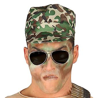 Militære Camouflage Cap Fancy kjole tilbehør