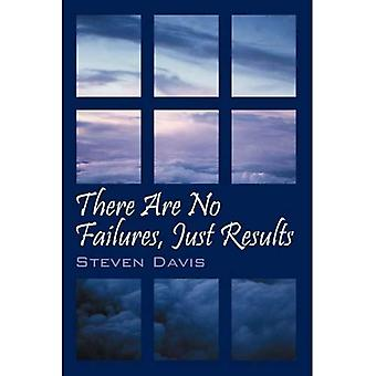 There Are No Failures, Just Results: Produce the Results You Desire in Life
