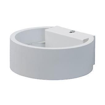 Glasberg - branco listrado Led luz de parede leve dois 492024002