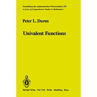 Univalent Functions by Duren & P. L.