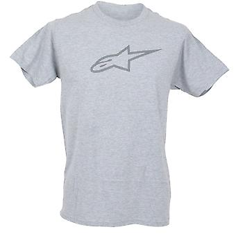 Alpinestars Mens T-Shirt ~ Ageless II grey/grey