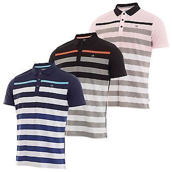 Calvin Klein Męska Koszulka Polo Velocity
