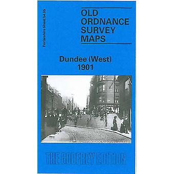Dundee (West) 1901 - Forfarshire Sheet 54.05 (Facsimile of 1901 ed) by