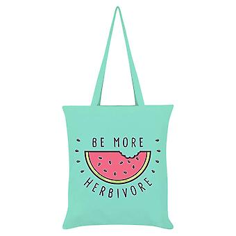 Grindstore Be More Herbivore Tote Bag