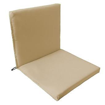 Gardenista® pietra resistente all'acqua due parte sedia sedile Pad, confezione da 4