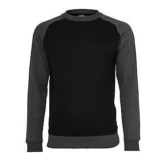 Urban Classics Men's Sweatshirt 2-Tone Raglan