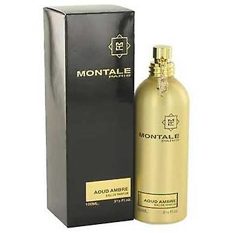Montale Aoud Ambre von Montale Eau De Parfum Spray (unisex) 3.4 Oz (Frauen) V728-518268