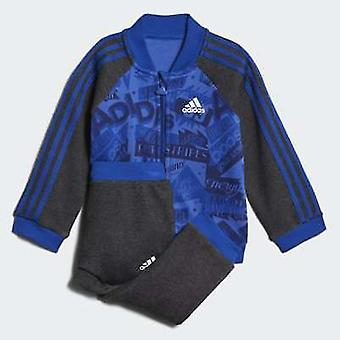 Adidas Infant Boys Basketball French Terry Tracksuit