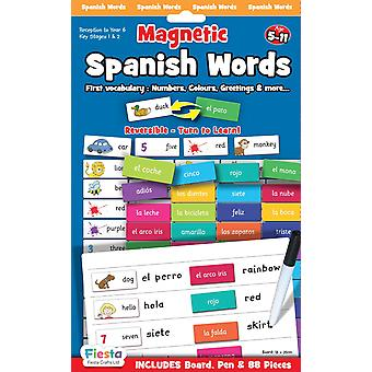 Fiesta Crafts Magnetic Spanish Words