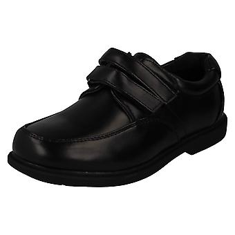 Boys Cool For School Hook and Loop School Shoes