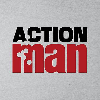 Action Man Logo Bullets Men's Hooded Sweatshirt