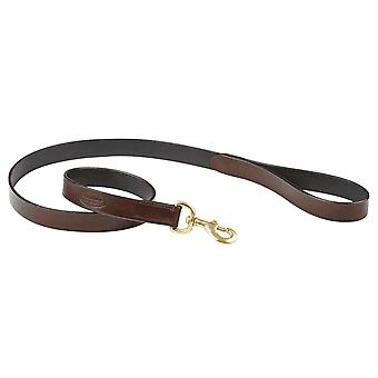 Weatherbeeta Leather Dog Lead - Marrón
