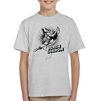 Flash Gordon Rope Swing Kid's T-Shirt