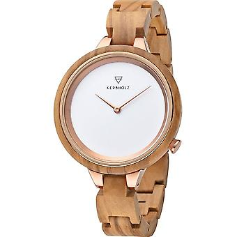 Kerbwood - Wristwatch - Unisex - Hinze - 4251240409948