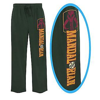 Star Wars Boba Fett Mandalorian miesten ' s Pajama housut
