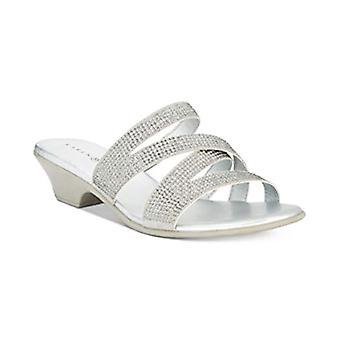 Karen Scott Womens Embir tissu ouvert Toe Casual Slide sandales