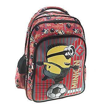 Graffiti Despicable Me Backpack - 44 cm - Red (Red)