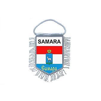 Flag Mini Flag Country Car Decoration Souvenir Blason Samara Russia