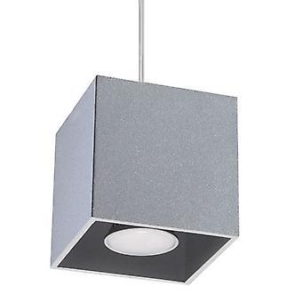 Sollux QUAD 1 Light Ceiling Pendant Grey SL.0061