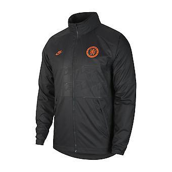 2019-2020 Chelsea Nike allweather ventilator jasje (antraciet)