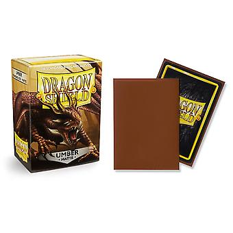 Dragon Shield Matte - Umber 100ct. in box (Pack of 10)
