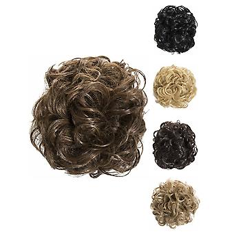 "Leila Eve Hairstyle Hair piece Claw 9"" Messy Updo Heat Resistant Hair Extensions"