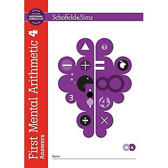 First Mental Arithmetic Answer Book 4 by Ann Montague Smith