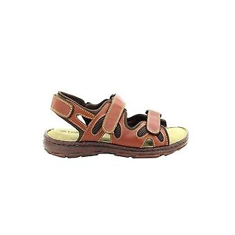Roamers Mens 3 Touch festing justerbar komfort sandaler
