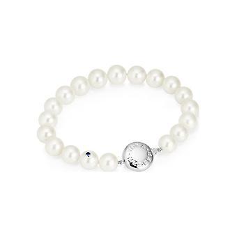 Yana Nesper Bracelet perlé 750s WG Sow. blanc 9-10mm 19cm FC19-7