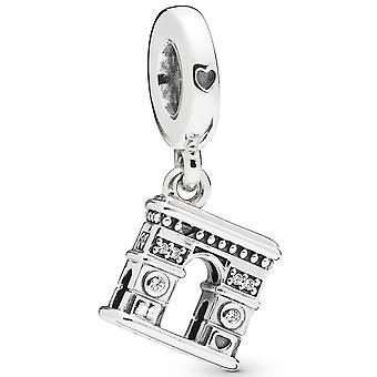 Charm Pandora 798127C - Durante l'Arco di Trionfo in argento