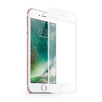 iPhone 8 Plus - 7 Plus Näytön suoja Läpinäkyvä Valkoinen - Karkaistu lasi 2,5D