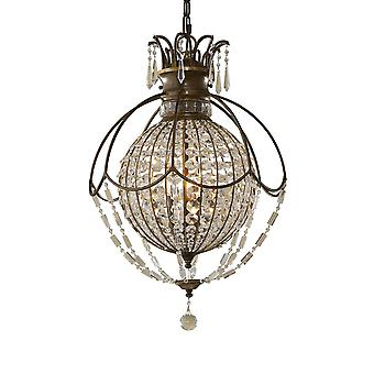 Bellini 3 lehký lustr-Elstead Lighting