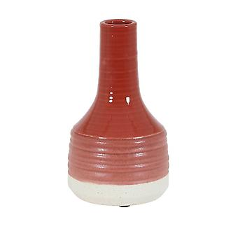 Light & Living Vase Deco 14x25.5cm Milana Terra-White