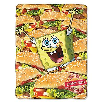 Fleece Throws - SpongeBob - Mass Patties 45x60