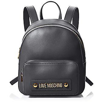 Love Moschino Jc4028pp1a Black Women's Backpack Bag (Black) 9x12x23 cm (W x H x L)