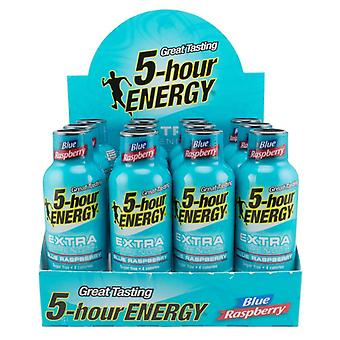 5 Hr Energy Extra Strength Blue Raspberry-( 60 Ml X 12 Bottles )