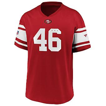Iconic Poly Mesh Supporters Jersey - San Francisco 49ers