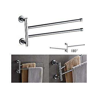 Wall Towel Holder Two Stainless Steel Arms