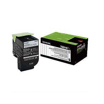 Lexmark 708Hke Black High Yield Corporate Toner Cartridge 4K