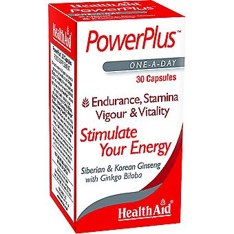 Health Aid Power Plus (Ginseng-Ginkgo Complex) 30 Capsules